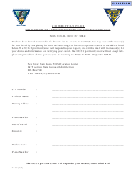 "Form S.P.670 ""Nics Denial Request Form"" - New Jersey"