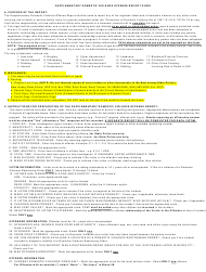 """Instructions for Form UCR-DV1 """"Supplementary Domestic Violence Offense Report"""" - New Jersey"""