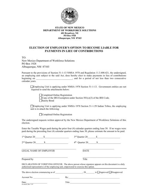 Form ES-802O Printable Pdf