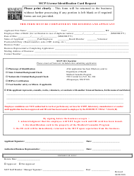 """""""Medical Cannabis License Id Card Request"""" - New Mexico"""