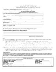 """Billing Information Form"" - New York"