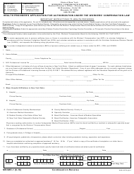 "Form MR/IME-1 ""Health Provider's Application for Authorization Under the Workers' Compensation Law"" - New York"