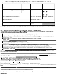 "Form HIMP-1 ""New York State Workers' Compensation Board Health Insurance Matching Program"" - New York"