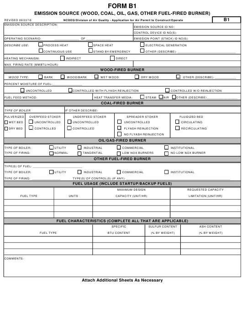 Form B 1 Printable Pdf