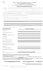 "Form ASD-NEG ""Negative Report of Unclaimed Property"" - North Carolina"