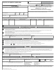 Form AOC-CR-284 Petition and Order of Expunction Under G.s. 15a-148 (Dna Records Appellate Dismissal or Pardon) - North Carolina