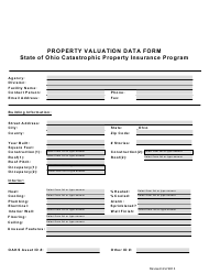 """Property Valuation Data Form"" - Ohio"