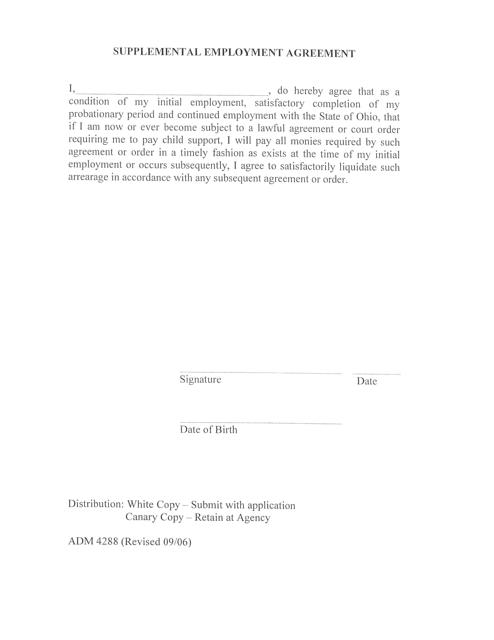 Form ADM4288  Printable Pdf