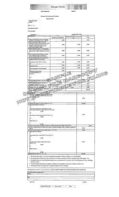 Form INS7142 2019 Printable Pdf