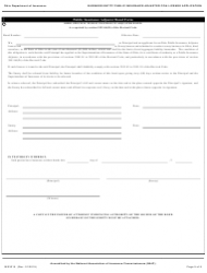 Form INS3215 Download Fillable PDF or Fill Online Business ...