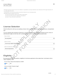 """Community Health Worker Application - Sample"" - Ohio, 2019"