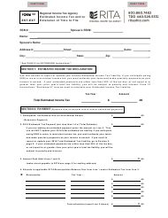"""Form 32 EST-EXT """"Estimated Income Tax and/Or Extension of Time to File"""" - Ohio"""