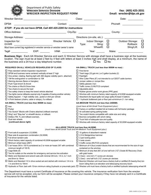 Form DPS180WS 0236  Printable Pdf