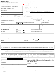 "CC- Form 3A ""Claimant's First Notice of Death and Claim for Compensation"" - Oklahoma"