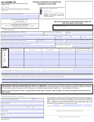 "CC- Form 3F ""Employee's Notice of Claim for Benefits From the Multiple Injury Trust Fund"" - Oklahoma"