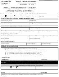 "CC- Form 50 ""Medical Interlocutory Order Request"" - Oklahoma"