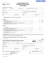 oregon payment voucher 2014