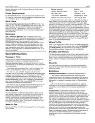 "IRS Form CT-2 ""Employee Representative's Quarterly Railroad Tax Return"", Page 2"