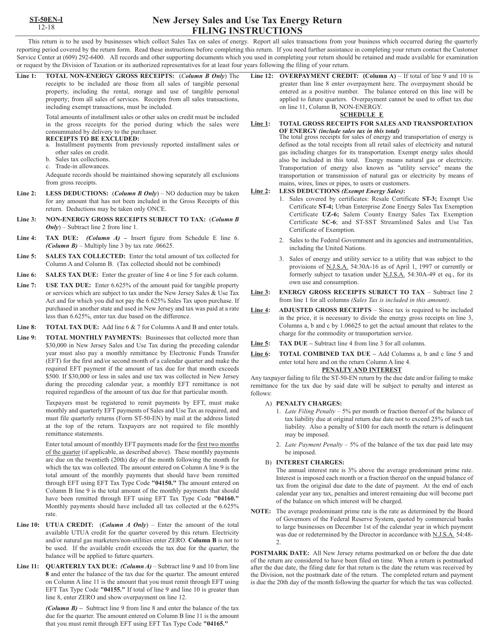 Form ST-50-EN Printable Pdf