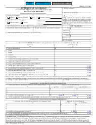 "TTB Form 5000.24SM ""Excise Tax Return"""