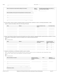 """Official Form 207 """"Statement of Financial Affairs for Non-individuals Filing for Bankruptcy"""", Page 13"""