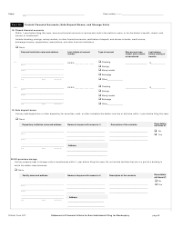 """Official Form 207 """"Statement of Financial Affairs for Non-individuals Filing for Bankruptcy"""", Page 8"""