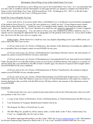 """T.C. Form 2 """"Petition (Simplified Form)"""""""