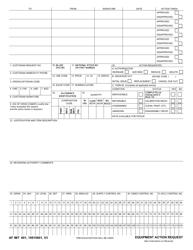 AF IMT Form 601 Equipment Action Request