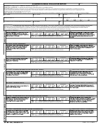 "AF IMT Form 494 ""Academic/Clinical Evaluation Report"""