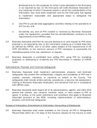 Business Associate Agreement Template Download Printable Pdf Page 9