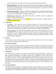 Co-marketing Agreement Template Download Printable PDF | Templateroller
