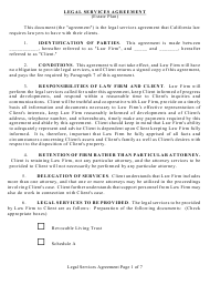 Legal Services Agreement Template