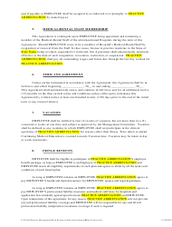 """""""Physician Employment Agreement Template"""", Page 3"""