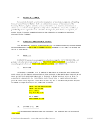 """""""Physician Employment Agreement Template"""", Page 5"""