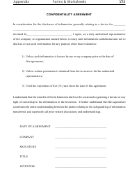 Information Confidentiality Agreement Template