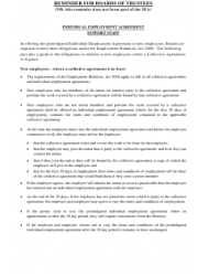 """""""Individual Employment Agreement Template (Support Staff in Schools )"""", Page 2"""