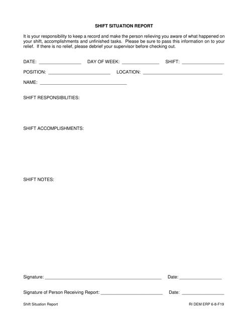Form 6-8-F19 Printable Pdf