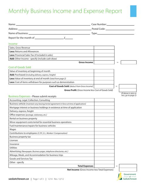 Form 1214 Printable Pdf