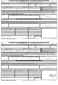"AFGSC Form 245 ""Authenticator Assignment/Entry Authorization Request/Record"""