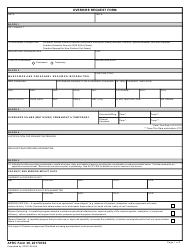 """AFRC Form 36 """"Overhire Request Form"""""""