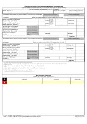 "USAFA Form 128 ""Constructive Travel Cost Comparison Worksheet - Authorization"""