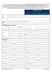 """USAFA Form 201 """"Usafa Judge Advocate General's Corp Vwap E-Checklist"""""""