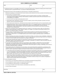 "USAFA Form 142 ""Usafa Commercial Isp Agreement"""