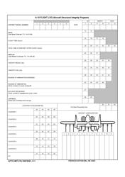 "AFTO IMT Form 278 ""A-10 Flight Log"""