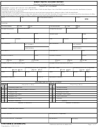 "51 FW Form 42 ""Minor Traffic Accident Report"""