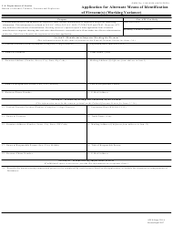 ATF Form 3311.4 Application for Alternate Means of Identification of Firearm(S) (Marking Variance)