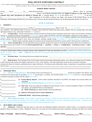 """Real Estate Purchase Contract Template"" - Utah"