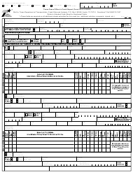 "Form CR-3 ""Texas Peace Officer's Crash Report"" - Texas"