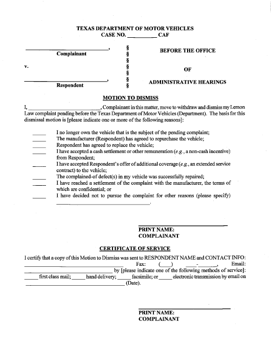 motion-to-dismiss-texas_big Online Order Form Template Html on free fundraiser, sample purchase, printable shirt, printable fundraising, free sales, repair work,