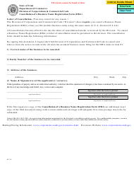 """Cancellation of a Business Name Registration Form (Dba)"" - Utah"